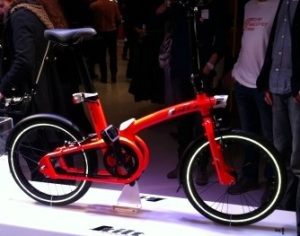 Bicicleta plegable decathlon B'Twin Tilt